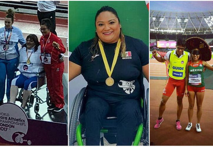 México gana nueve medallas en el Mundial de Para-Atletismo (Foto: Twitter @CONADE)