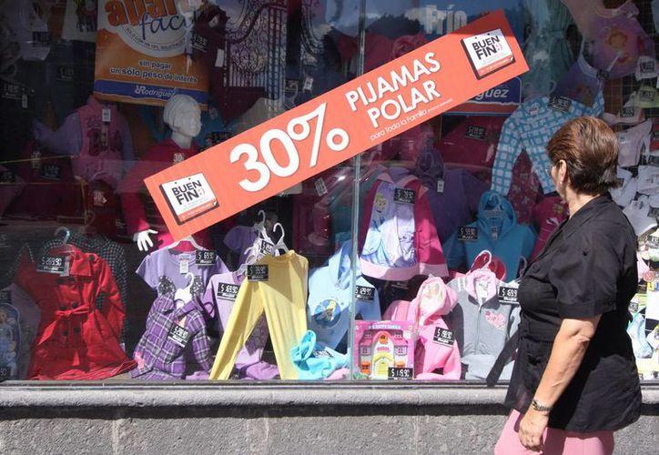 Canacome indicó que para la edición 2013 de El Buen Fin se duplicaron los establecimientos que participarán, al pasar de tres mil a seis mil puntos de venta, tan sólo en Mérida. (Archivo Notimex)