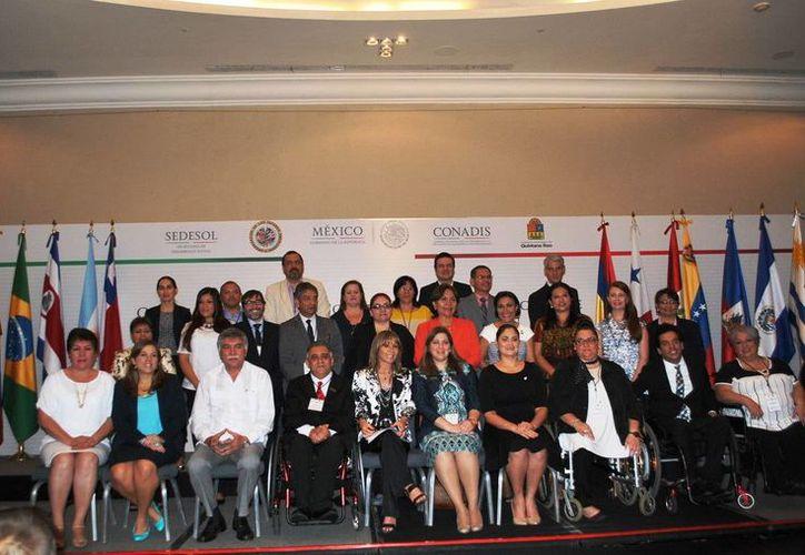 El Consejo Nacional para el Desarrollo y la Inclusión de las Personas con Discapacidad se llevó a cabo en Cancún. (Redacción/SIPSE)