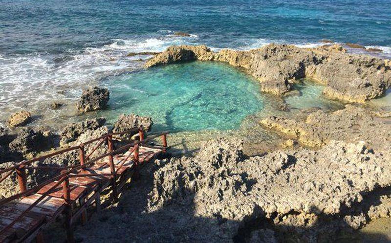 Conoce la alberca natural de isla mujeres novedades for Piscina huerta del rey