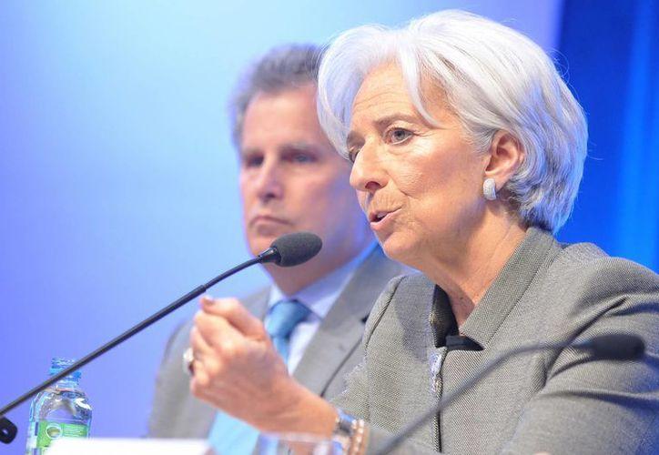 La directora gerente del Fondo Monetario Internacional, Christine Lagarde, recomendó a los países miembros adecuar sus políticas monetarias y fiscales a sus necesidades. (Notimex)