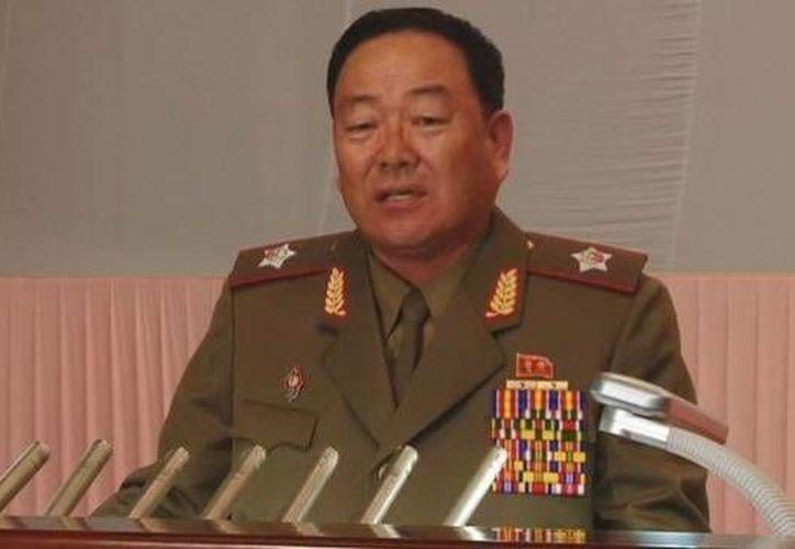 Hyon Yong-chol fue ejecutado públicamente por 'traicionar a la patria' al dormirse en un acto oficial. (nknews.org)