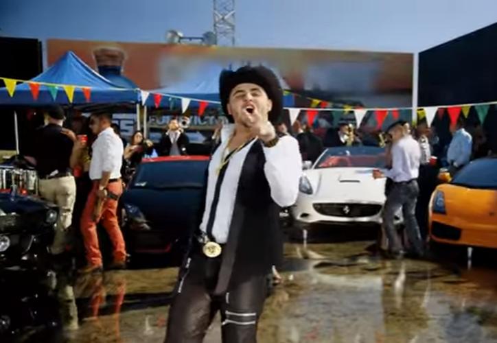 """Dámaso, es el nombre del popular tema musical dedicado a Dámaso López Serrano, apodado """"El Mini Lic"""". (Captura YouTube)."""