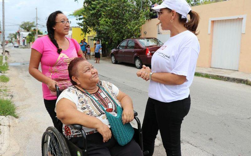 Dentro de su proyecto de trabajo, tiene como objetivo reunirse con el DIF nacional y el estatal y trabajar en conjunto por el bienestar de Benito Juárez. (SIPSE)