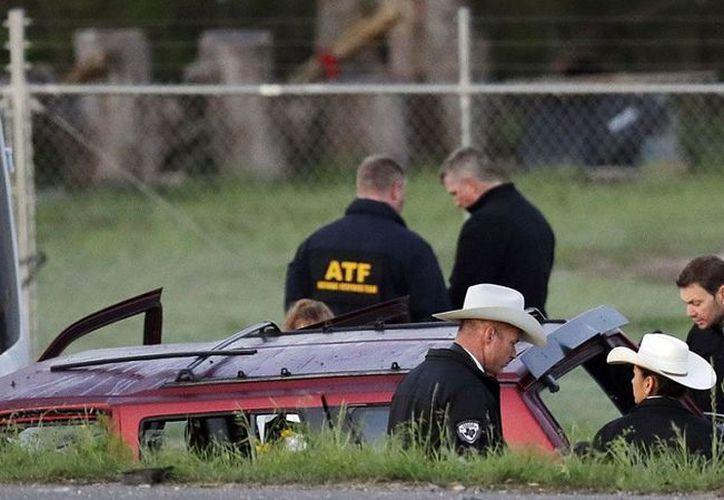 La serie de paquetes explosivos mató a dos personas e hirió a otras cuatro. (AP)