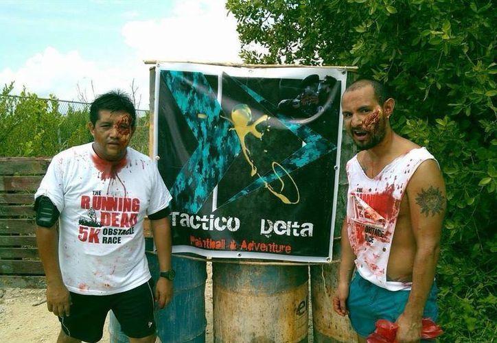 Los participantes podrán dispararle a los Zombies. (Facebook/Gotcha Tactico Delta)