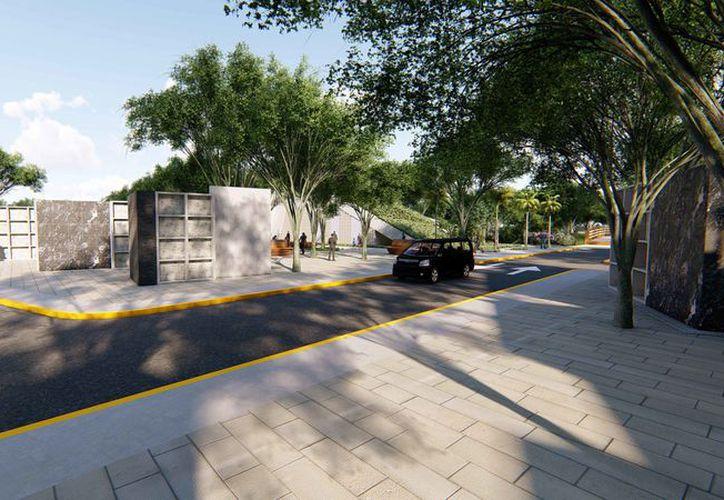 El nuevo cementerio se ubicará en la Supermanzana 106. (Cortesía)