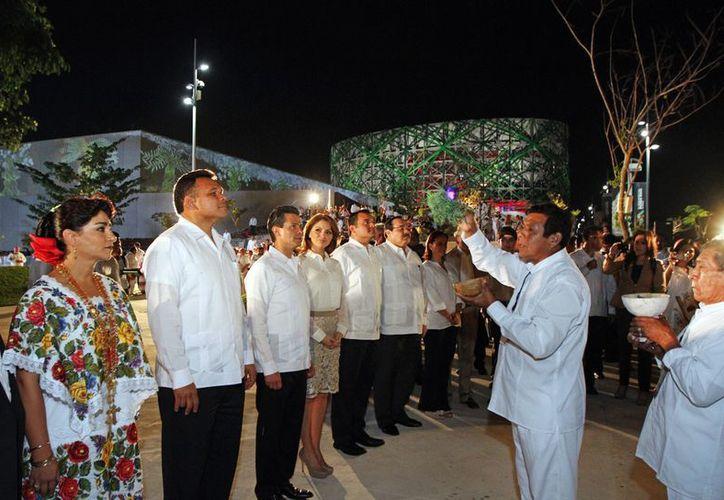 Los eventos del fin del calendario maya se realizaron el pasado 21 de diciembre. (SIPSE)
