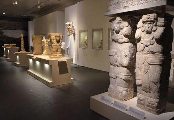 La muestra 'Mayas, revelación de un tiempo sin fin' se exhibe actualmente en París, Francia. (inah.gob.mx)