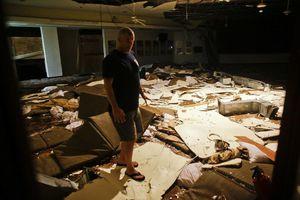 Huracán Odile deja estela de daños en BCS