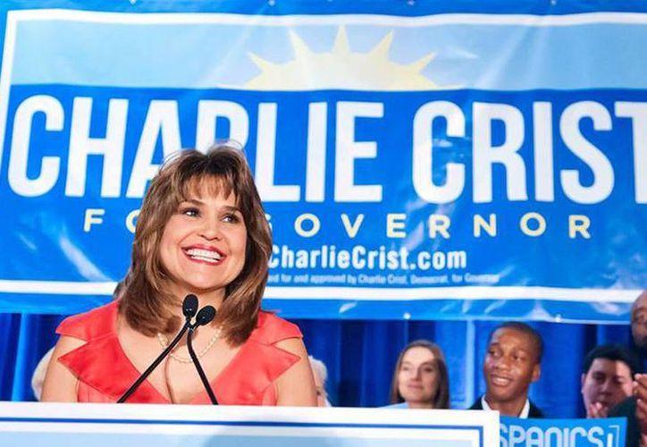 Annette Taddeo Goldstein, compañera de fórmula del ex gobernador de Florida Charlie Crist, el ex republicano convertido en demócrata. (Gacebook/Annette Tadeo)