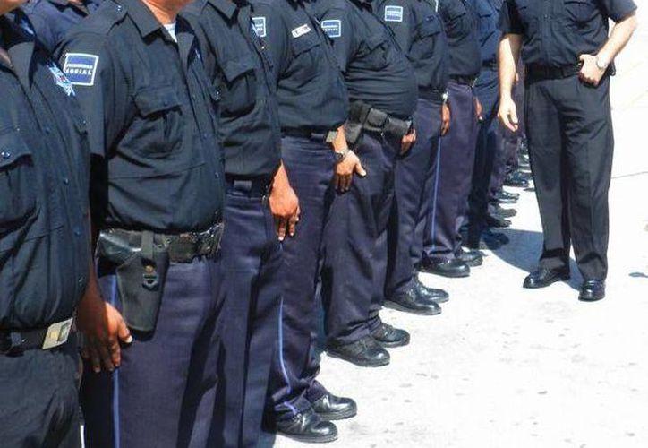 Destinarán 138 policías a la zona de playas del 22 de febrero al 15 de abril. (Juan Estrada/SIPSE)