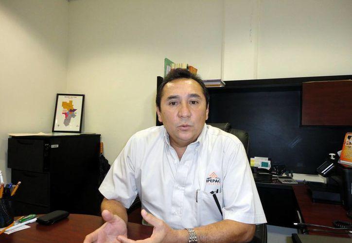 José Martínez dijo que los manuales del Ipepac están obsoletos. (Milenio Novedades)