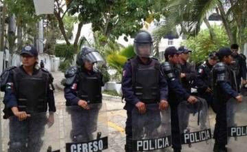 Los policías federales fueron acribillados sin que mediara palabra alguna. (SIPSE/Archivo)