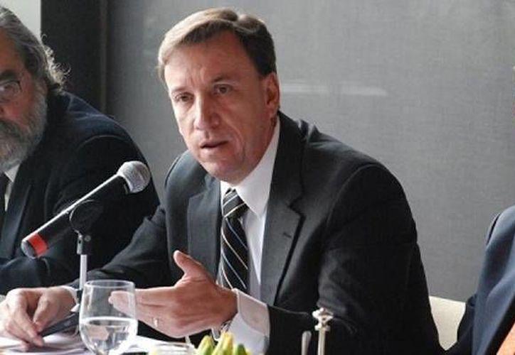 Tuffy Gáber Flores fue hasta el 13 de enero miembro del Consejo Directivo como vicepresidente de Enlace Legislativo. (zocalo.com.mx)