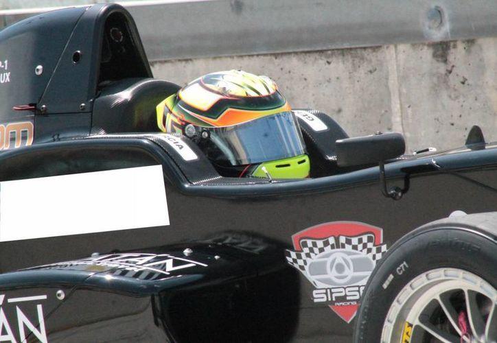 García Macari necesitó sólo de 3 fechas para demostrar sus cualidades dentro del asfalto en Utah.