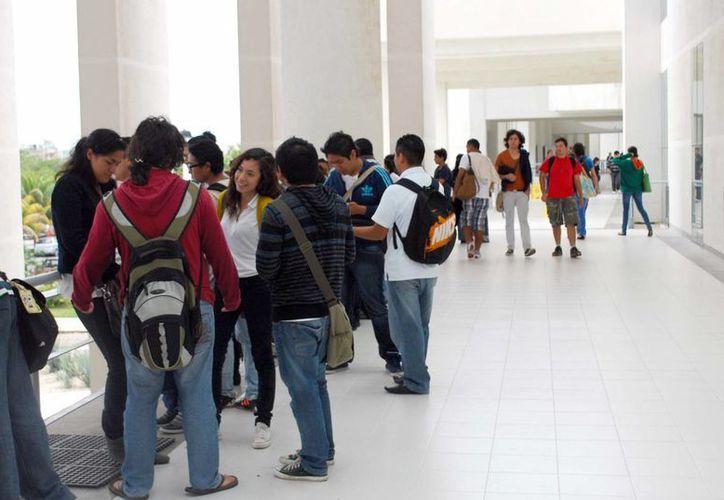 Los estudiantes sienten abandono por parte de sus superiores. (Tomás Álvarez/SIPSE)