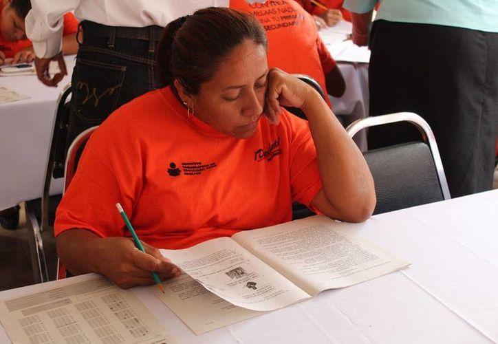 El Inmujeres y el INEA se unieron para abatir el rezago educativo en mujeres mayores de 15 años. (Foto de contexto/tamaulipas.gob.mx)