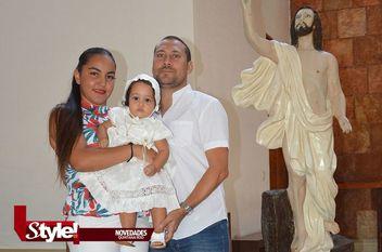 Primer sacramento de Isabella Segovia Bucio