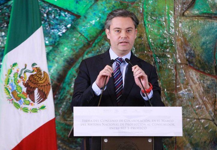 Aurelio Nuño, titular de la Secretaría de Educación, ratificó la disposición del gobierno para dialogar con el magisterio disidente. (Notimex)