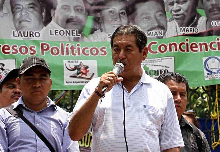 El líder de la Sección 22 de la CNTE, Rubén Núñez, es acusado de lavado de dinero. (altonivel.com.mx)