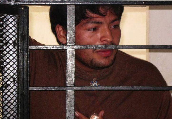Betuel Girón Pérez enfrenta cargo de homicidio. (Francisco Puerto/SIPSE)