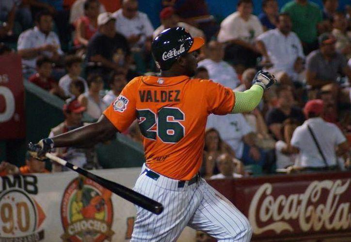 En 2015, Valdez fue el campeón de bateo de la LMB con los Leones. (Foto: Archivo)