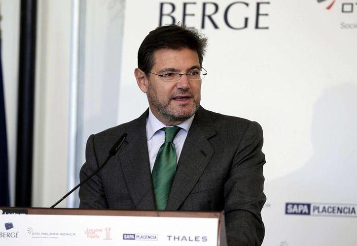 En la imagen, el secretario de Estado español de Infraestructuras, Rafael Catalá. (EFE/Archivo)