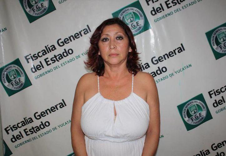 María Eloísa Herrera Fernández no se tentó el corazón para despojar de sus ahorros a su anciano padre. (SIPSE)