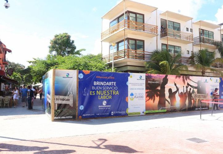 La zona turística, conocida como la Quinta Avenida, será liberada de las obras de construcción. (Adrán Barreto/SIPSE)