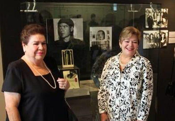 Familiares de Juan García Ponce, de plácemes por compartir el legado del artista. (Milenio Novedades)