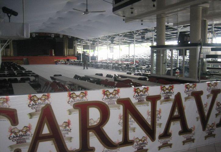 El presupuesto de este año del  costo del carnaval será de aproximadamente ocho millones 500 mil pesos, reveló personal de la Oficialía Mayor del Ayuntamiento de Cozumel. (Marco Do Castella/SIPSE)
