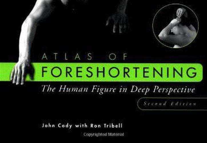 Portada del volumen 'The Atlas of Foreshortening', el cual está catalogado por las leyes de Connecticut como pornografía a pesar de su contenido artístico.  (amazon.com)
