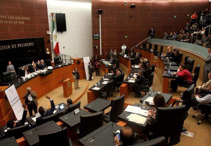El Senado concluyó la noche del martes la primera ronda de los debates sobre las leyes secundarias de la reforma energética. (Notimex)