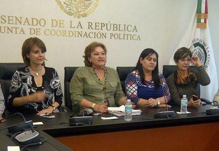 Se espera que el dictamen de la ley de menores sea votado el jueves en San Lázaro. (Angélica Mercado)