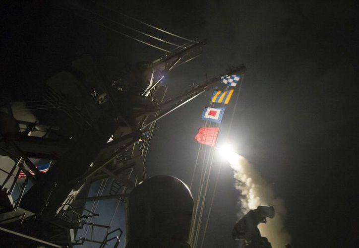 Estados Unidos lanzó 59 misiles de crucero Tomahawk. (Foto: AP)