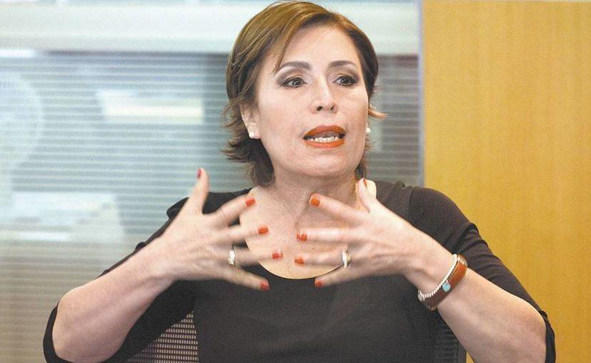 La secretaria de Desarrollo Social, Rosario Robles, detalló el plan contra el hambre. (Milenio)