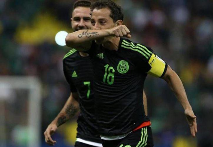 En la foto, Andrés Guardado, actual capitán de la Selección de México. (AP)