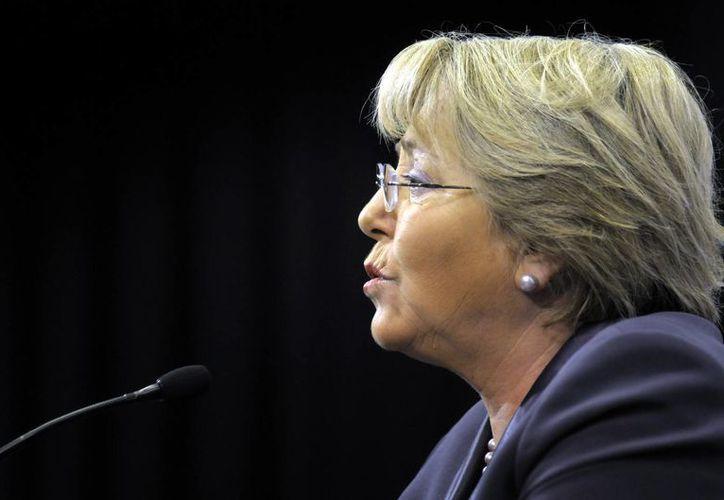 """Michelle Bachelet aseguró que """"los intereses de la ciudadanía estarán mejor representados en el parlamento"""". (Archivo/Agencias)"""