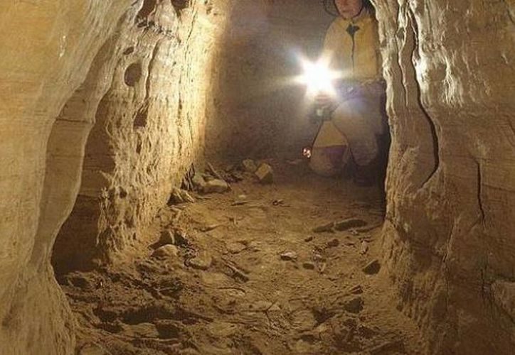 Los túneles fueron cavados bajo grandes cantidades de sedimentos neolíticos por toda Europa, y datan de 12 mil años de antigüedad. (Heinrich Kusch)
