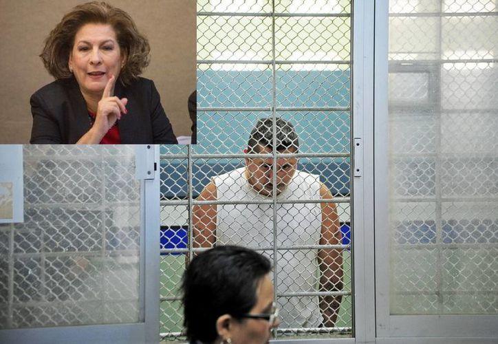 Isabel Miranda (r) declaró que las delegaciones Iztapalapa, Gustavo A. Madero y Tlalpan son las que registran más secuestros en el DF. (Claroscuro/Notimex)