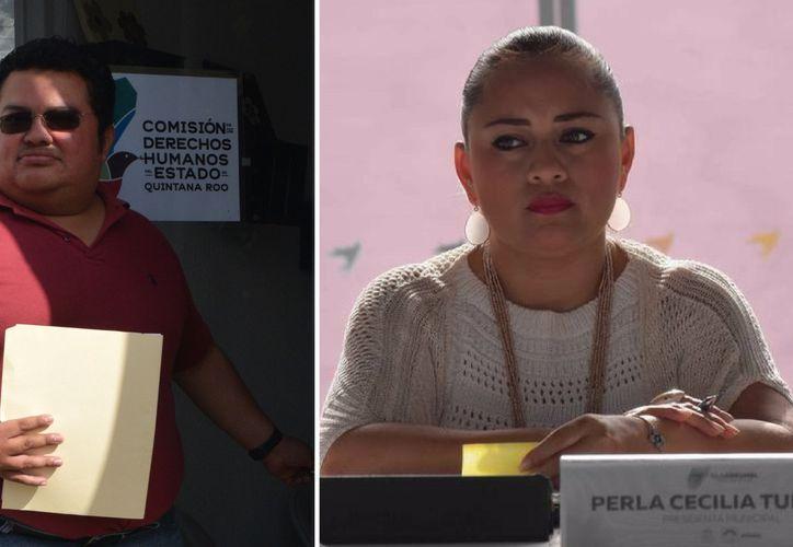 En la Sesión 29 Perla Tun agredió verbalmente al concejal Luis Chacón. (Foto: Redacción)