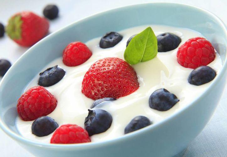 El yogurt es un alimento muy noble, que se puede combinar con un poco de fruta. (Contexto/Internet)