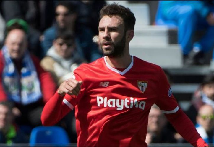 El Sevilla tuvo momentos activos con trazos del mexicano Layún. (AFP)