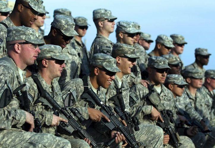 Habitualmente la custodia y protección de las embajadas de Estados Unidos está a cargo de destacamentos de infantes de Marina. (Archivo/EFE)