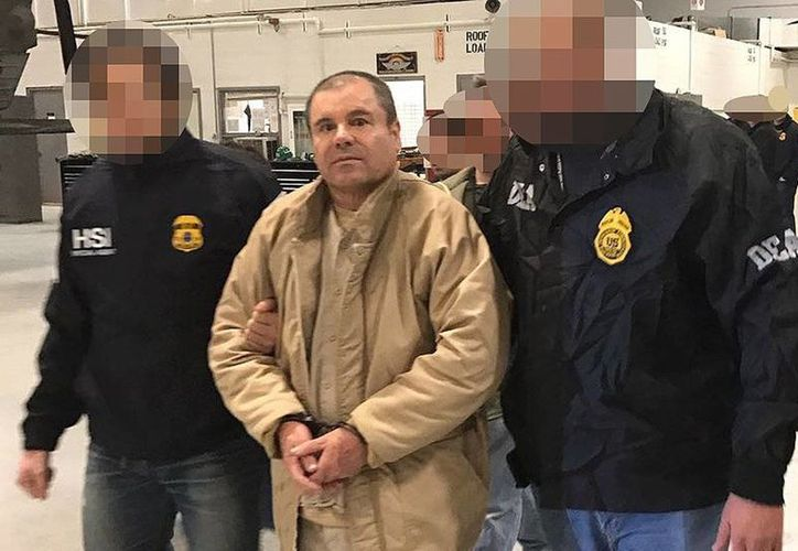 'El Chapo' fue extraditado hace unas dos semanas a Estados Unidos desde México. (Archivo/AFP)