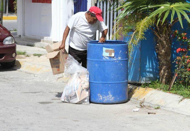 El servicio de recoja de basura en el municipio de Solidaridad será ahora durante cinco días a la semana. (Adrián Barreto/SIPSE)