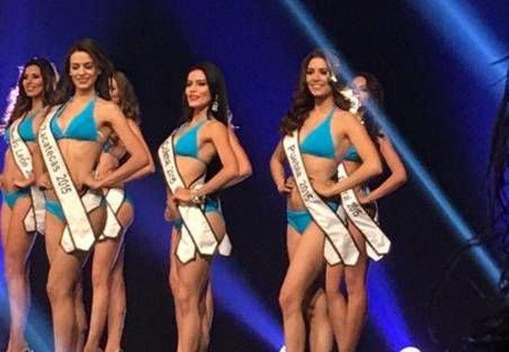 Este miércoles se realizó la presentación de las aspirantes a Nuestra Belleza México 2016. Las redes sociales serán parte importante en la elección de la ganadora. (twitter.com/NuestraBellezaMX)