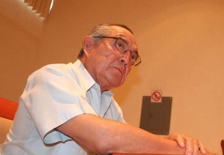 """Nosotros nos regimos de acuerdo con el Artículo 123 Constitucional"""", dijo Mario Tránsito, titular de la FTY, respecto a la propuesta del Inaip de transparentar a todos los sindicatos. (SIPSE)"""