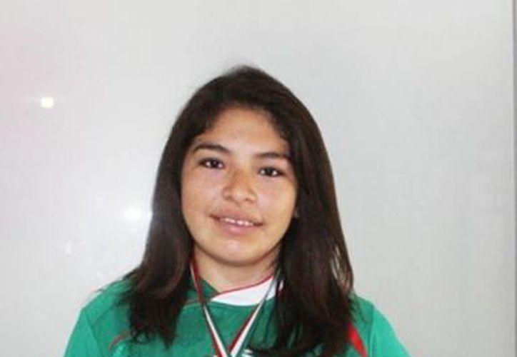 Guadalupe Quintal Catzin es una de las karatecas femeniles más sobresalientes del estado. (Archivo/SIPSE)